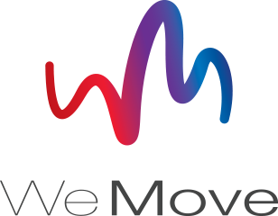 We Move Logo