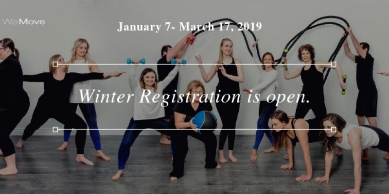 Winter Registration is open